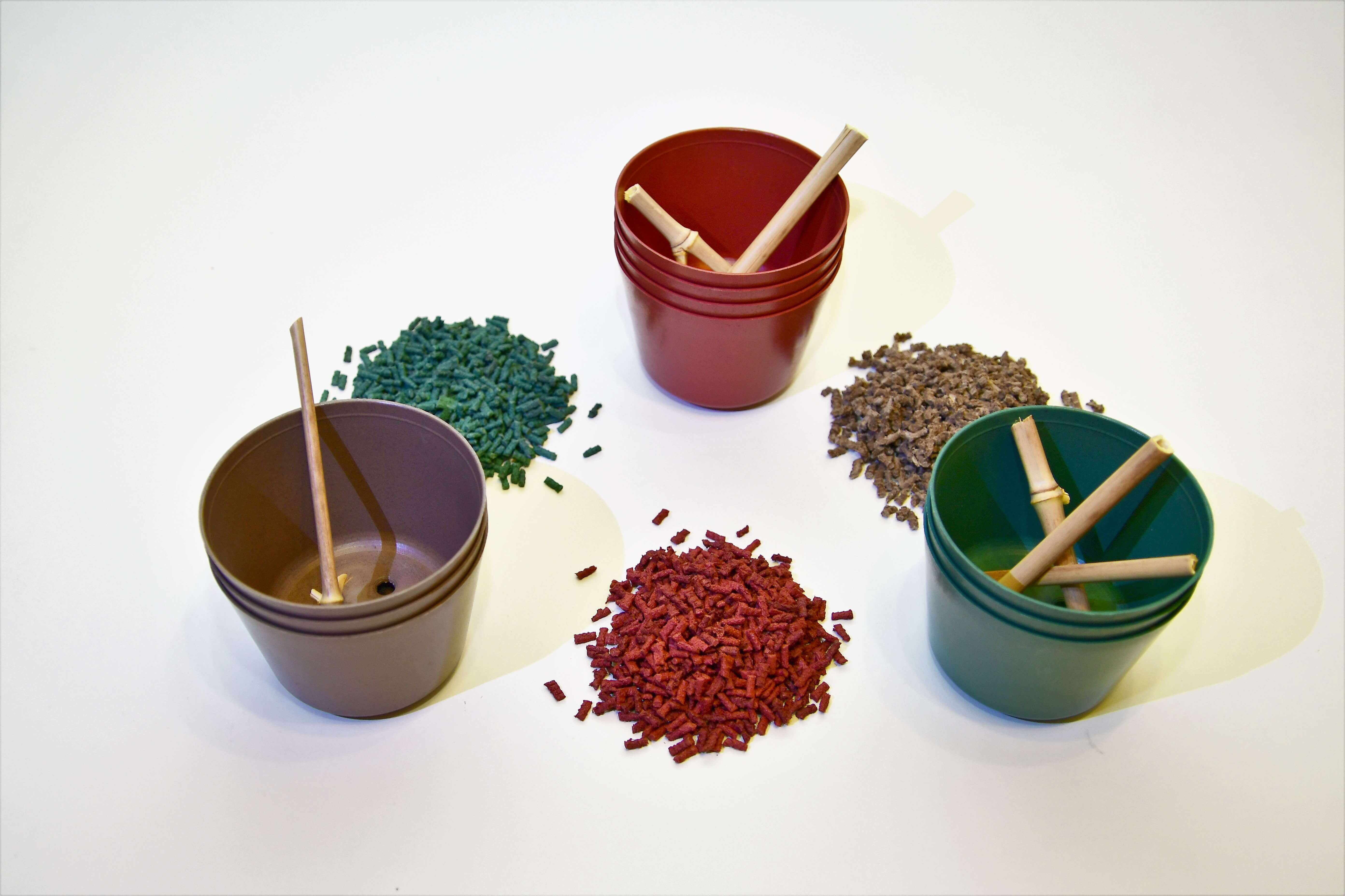 Home - Bioplastic pot